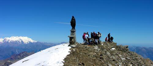 Punta Tersiva Summit