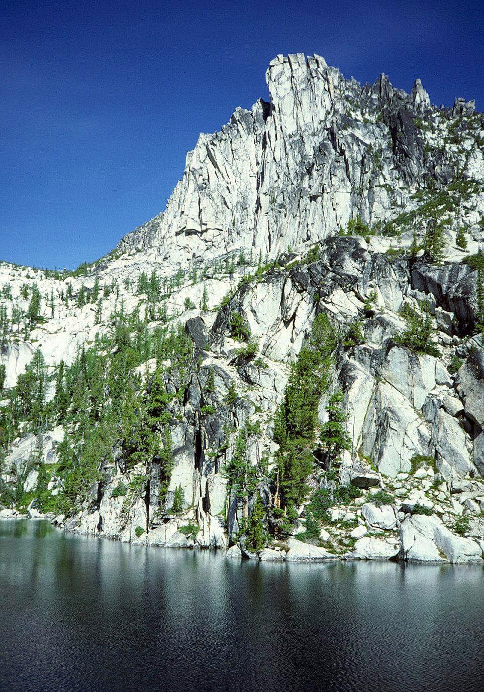 08 Prusik Peak over Lake Viviane