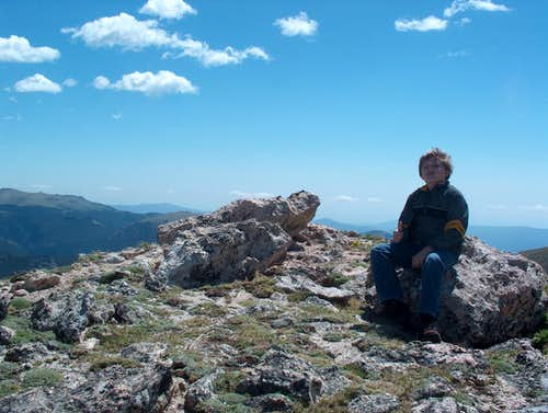 A Boy\'s Hero Shot, Sundance Mountain, CO