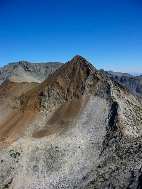 Virginia Peak's south ridge,...