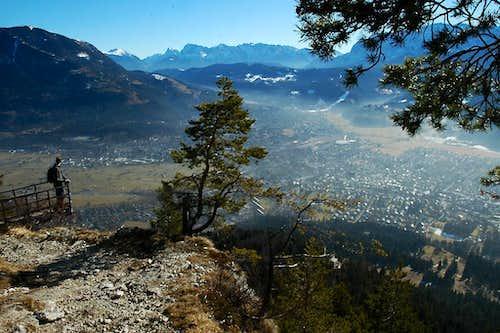 Garmisch from Kramerspitze
