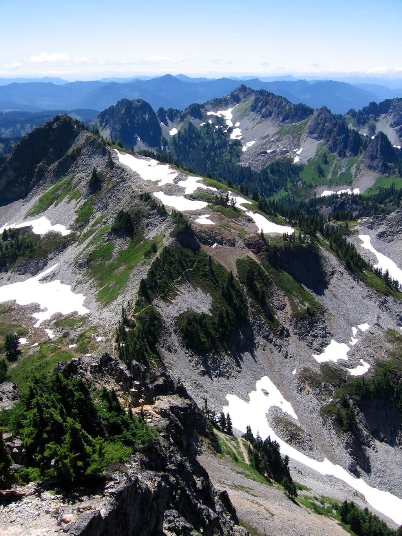 Plummer and Wahpenayo Peaks