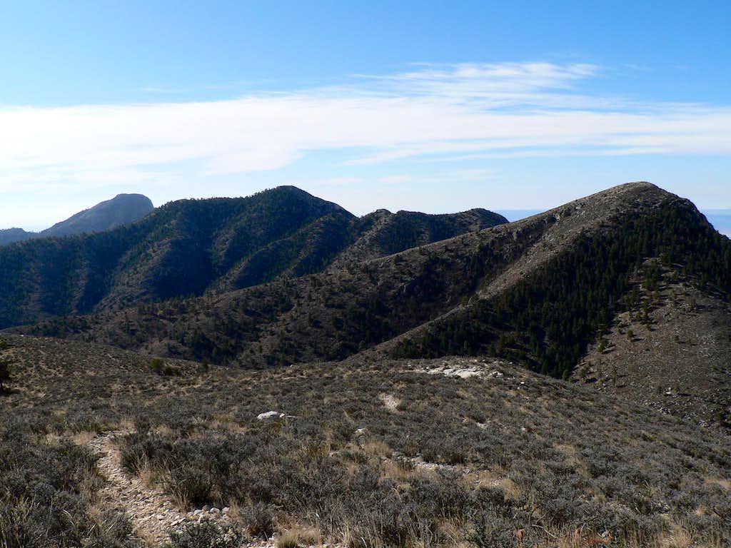 Bush Mtn. looking south