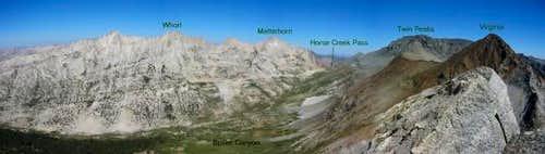 View towards Whorl Mountain,...