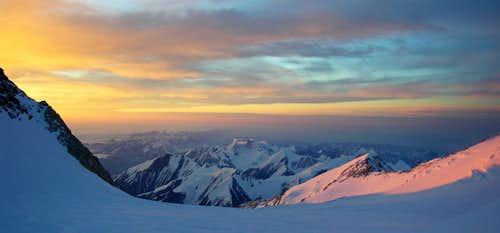 Sunrise at Denali Pass