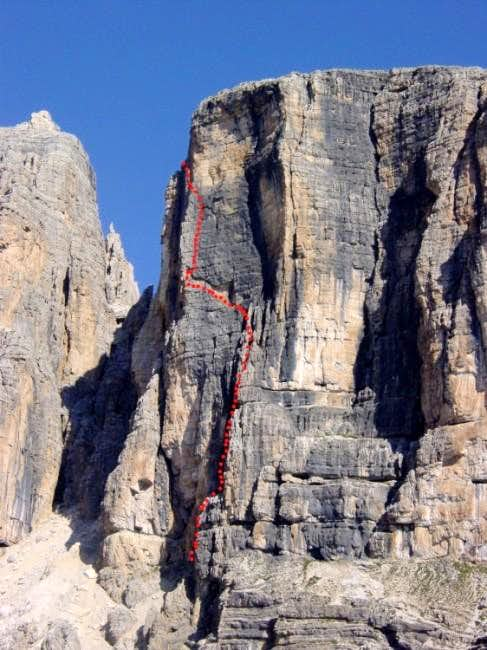 The Dorigatti/Gambisi route...