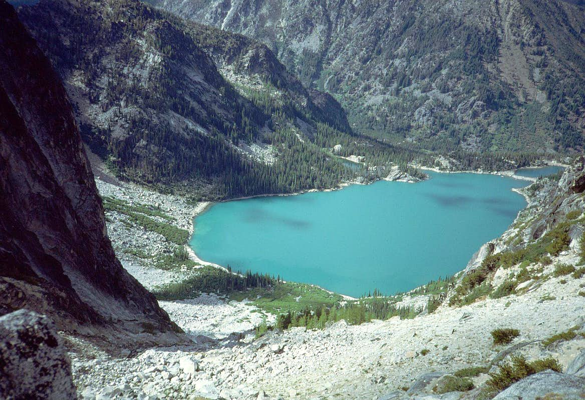 28 Down to Colchuck Lake