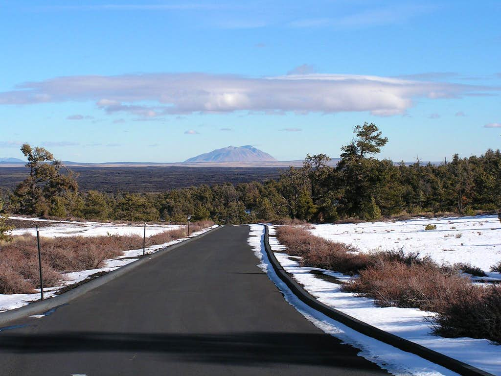 Big Southern Butte & Craters of the Moon lava flows