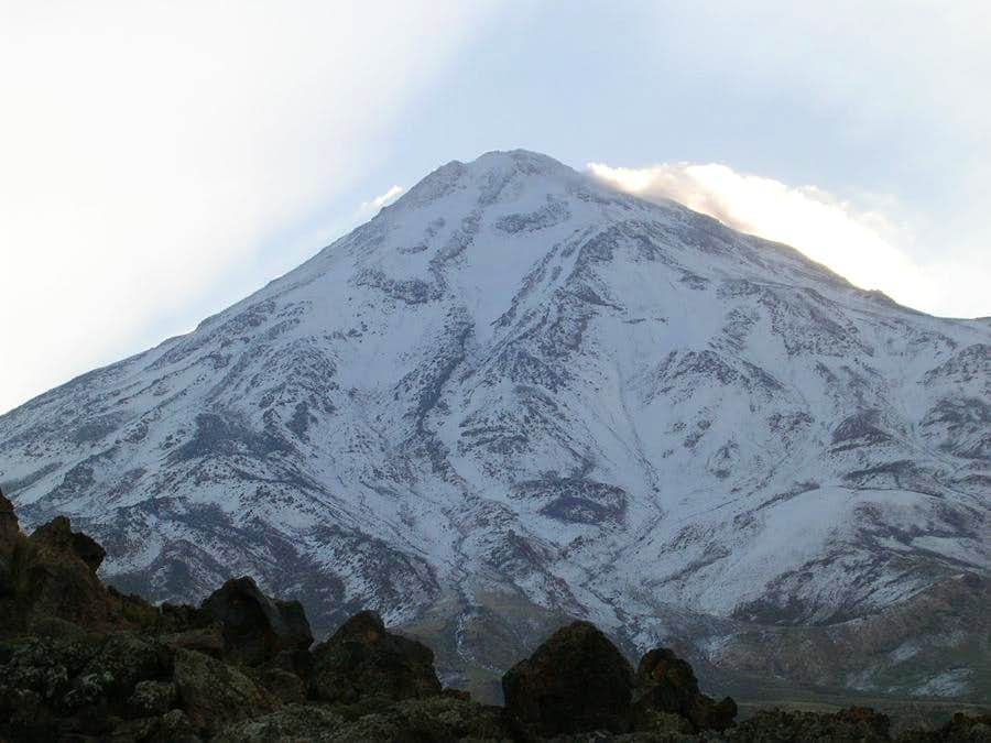 Damavand mt. west face