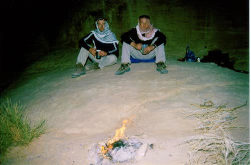 Burdah Camp Fire
