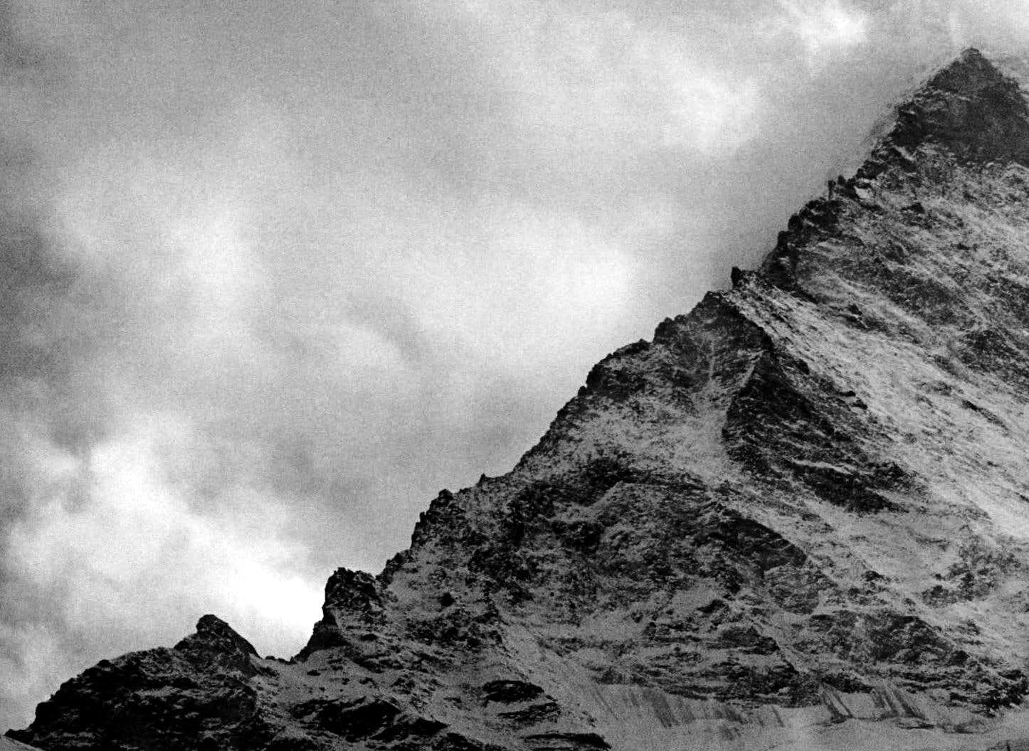 \'Matterhorn in Winter Tastes Bittersweet\'