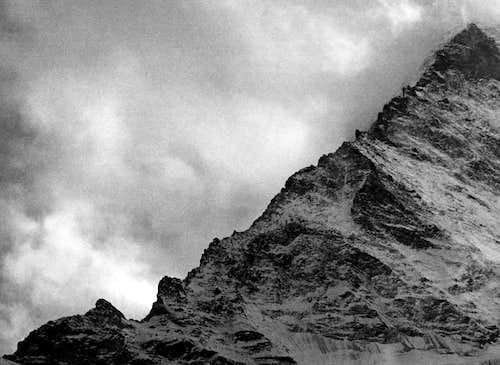 Matterhorn Hörnligrat Winter