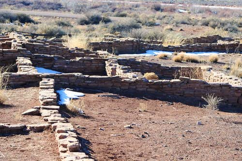 What\'s left of Puerco Pueblo
