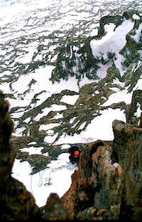 Climbing Matterhorn Winter