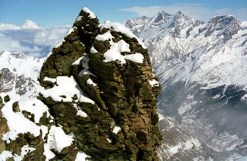 'Matterhorn in Winter Tastes Bittersweet'