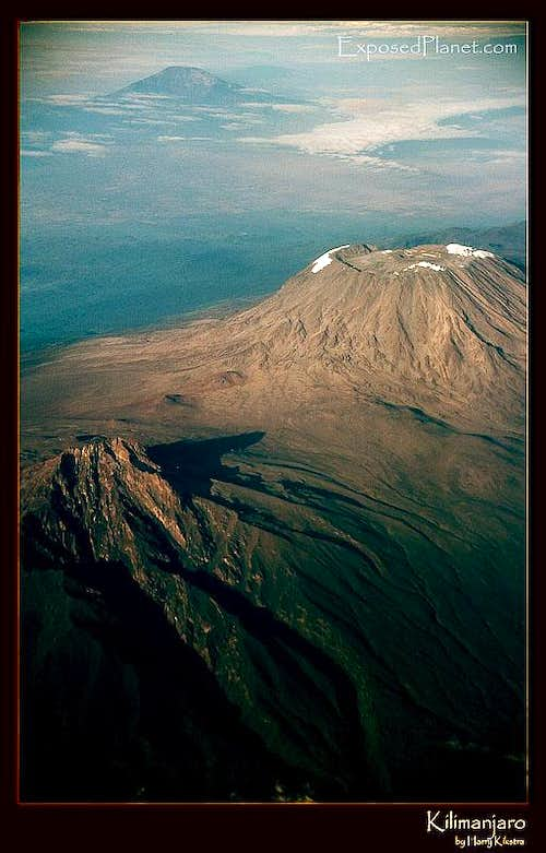 Kilimanjaro from the air, 2003