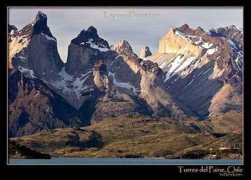 Torres del Paine overview