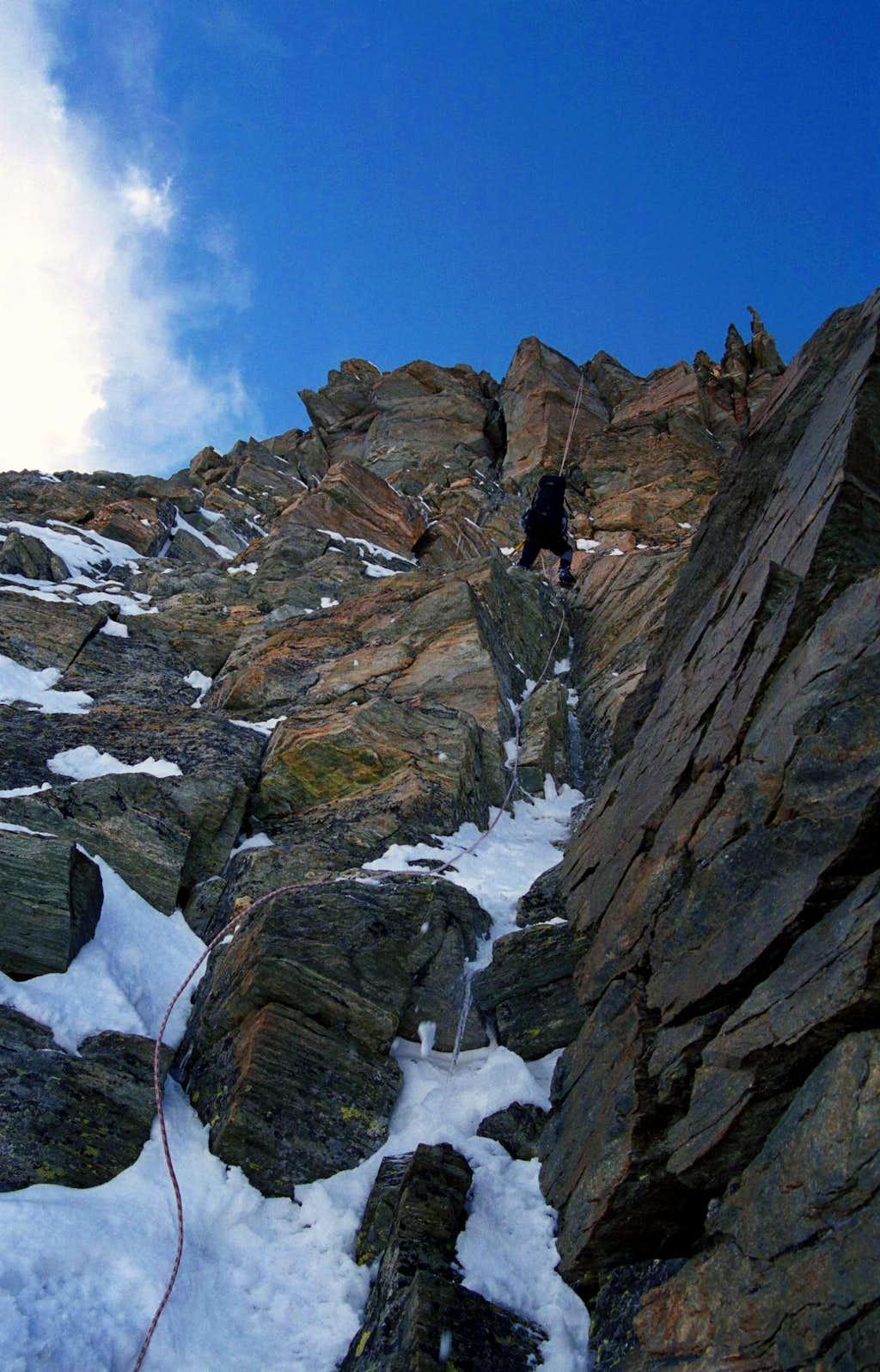 Matterhorn Winter, Long rappel