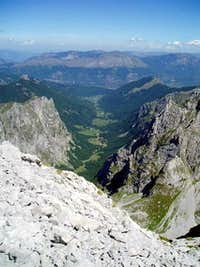 Maja Vukoces summit view