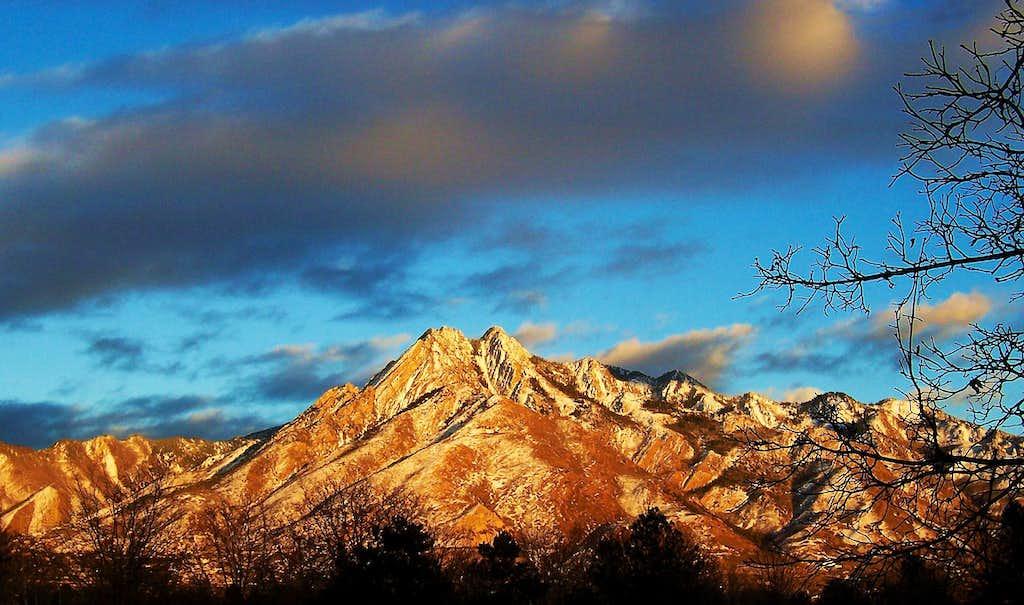 Mount Olympus from Salt Lake City