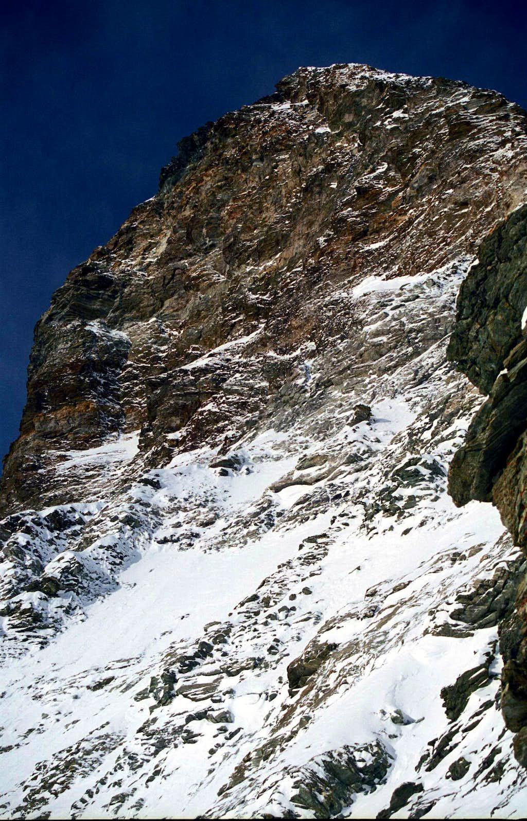 Matterhorn's summit Winter