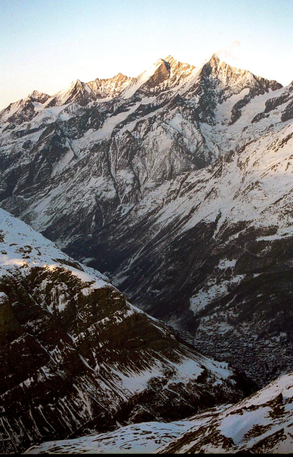 Dom, Täschhorn - Winter
