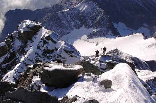 Grossglockner\'s summit ridge