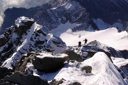 Grossglockner's summit ridge