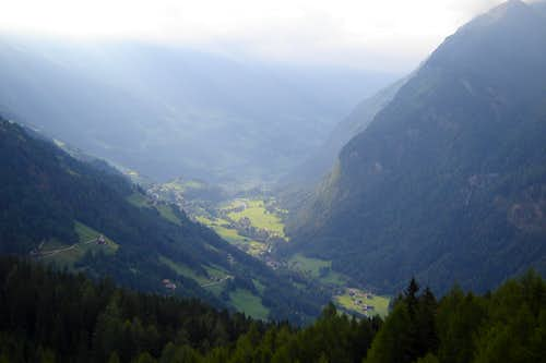 The valley of Heiligenblut