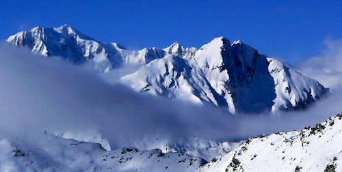 Mont Blanc and Grande Rochère