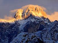 Montaz summit from Dogna/Dunja