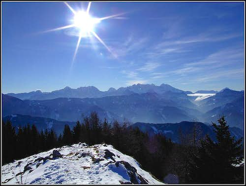 Kamnik / Steiner Alps from the summit of Ojstra