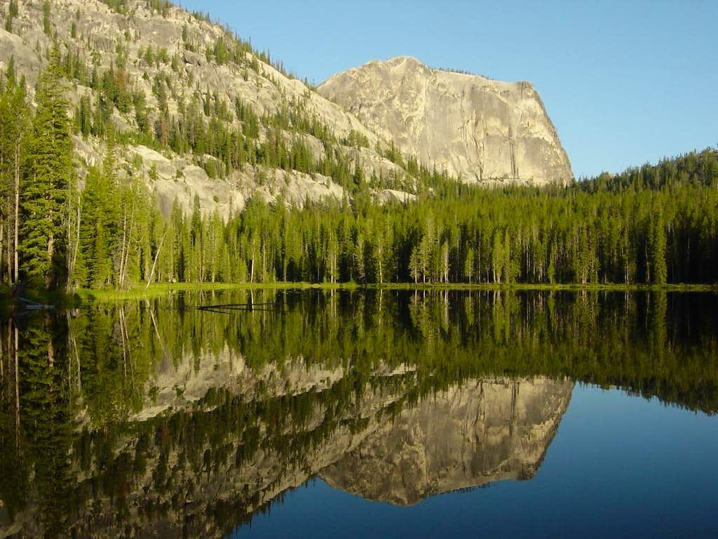 Sugar Loaf and Yellowjacket Lake
