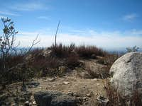 Summit of Hastings Peak (4000 ), San Gabriel Mountains