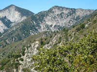San Gabriel Peak (L), Occidental Peak