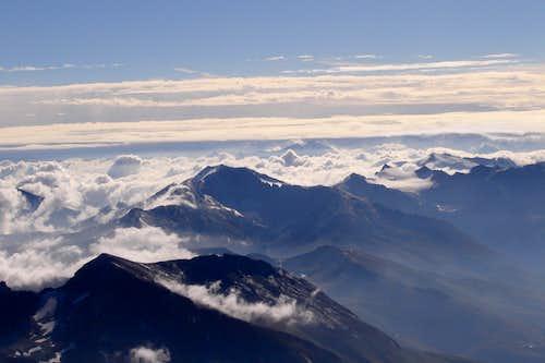 Grossglockner's summit view