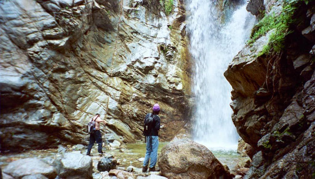 Millard Falls, San Gabriel Mtns.