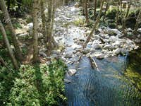 Winter Creek near Chantry Flat, San Gabriel Mountains