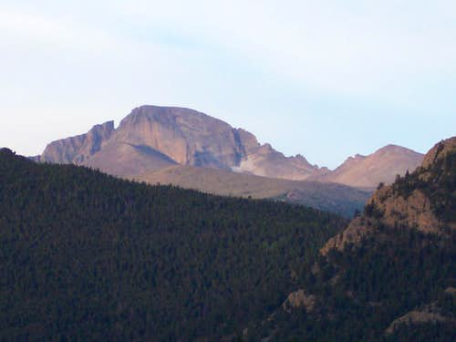Early Morning on Longs Peak