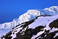 Rebmann Glacier, Kilimanjaro