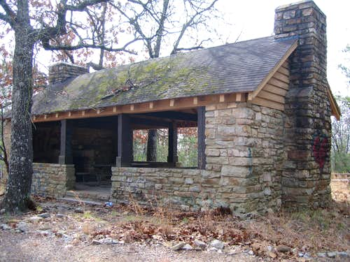Picnic Shelter at Oak Mountain State Park