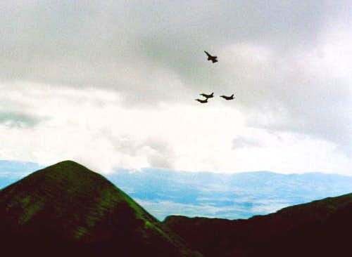 F16 flyby on Aug 8th, 2003,...