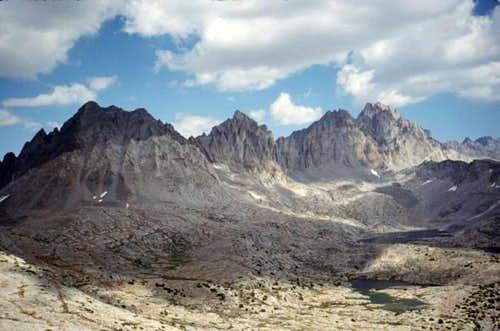 Dusy Basin and the grand...