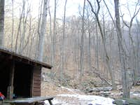 Harpers Creek Shelter