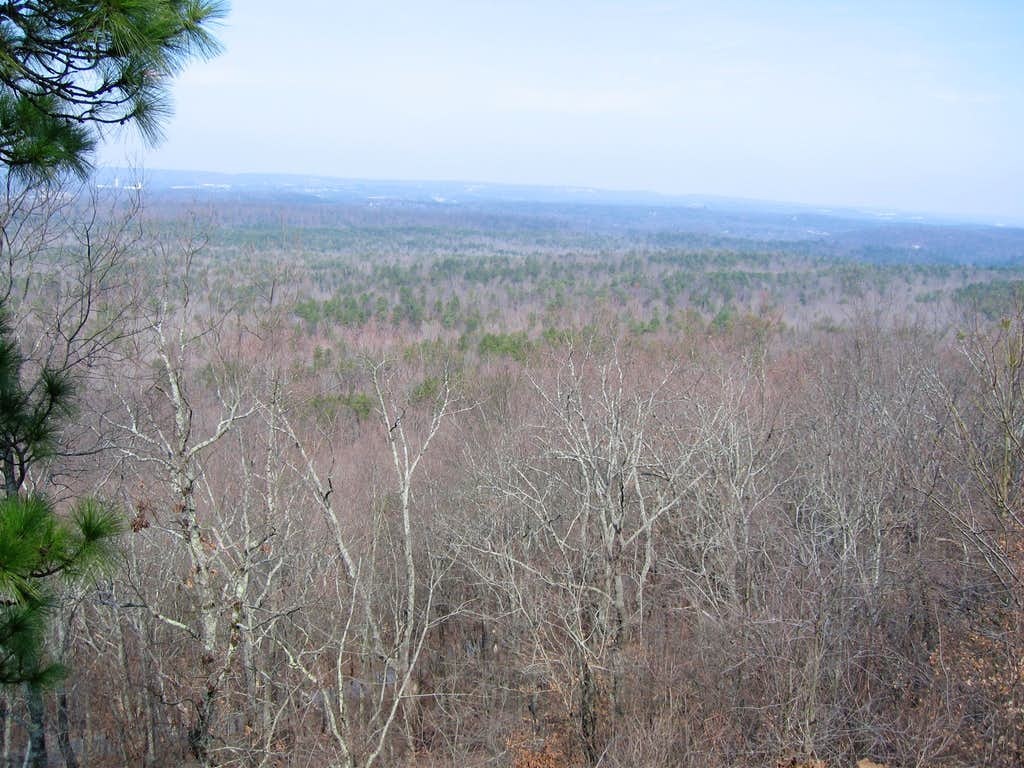 View from Terrace Drive in Oak Mountain State Park