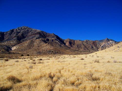 Desert Peak from Dell's Canyon