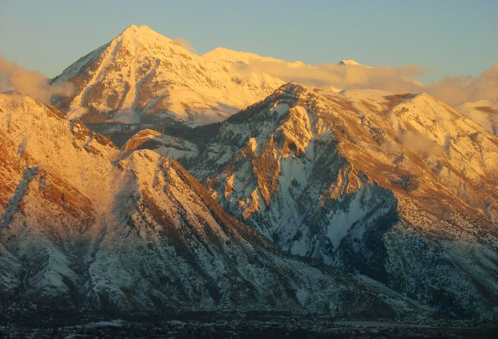 North Timpanogos & Mahogany Mountain