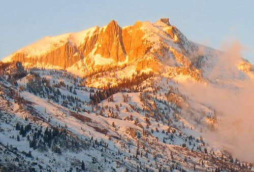 Lone Peak from Suncrest Dr.