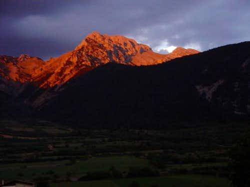 Pedraforca massif from...