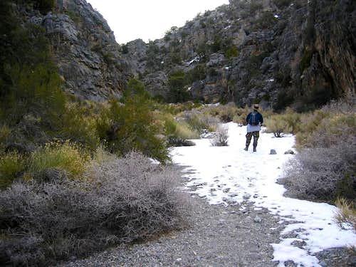 Entering Deadman Canyon